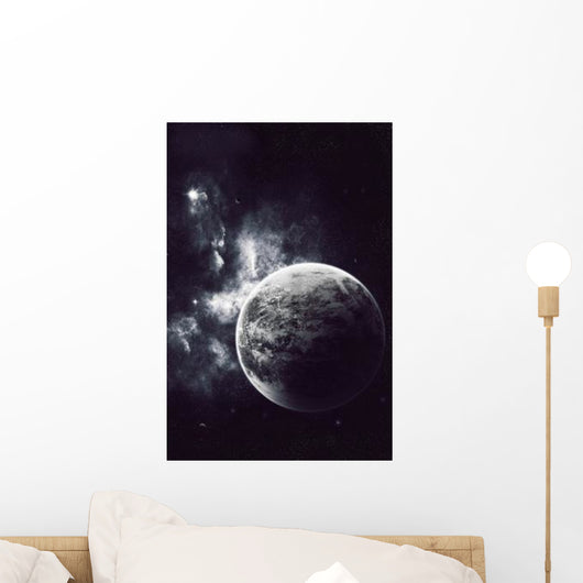 Artist's Concept Windy Planet Wall Decal