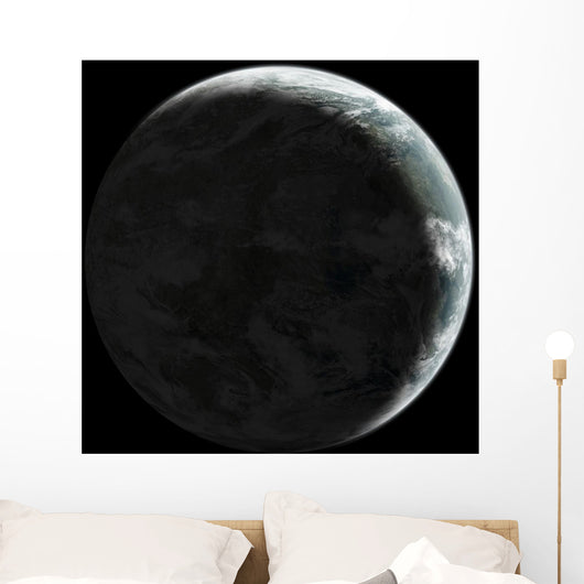 Artist's Concept Earth-like Planet Wall Decal