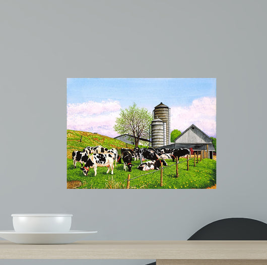 Barnyard Beauties Wall Mural