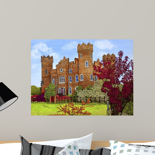 Ireland Clonyn Castle Co Wall Decal