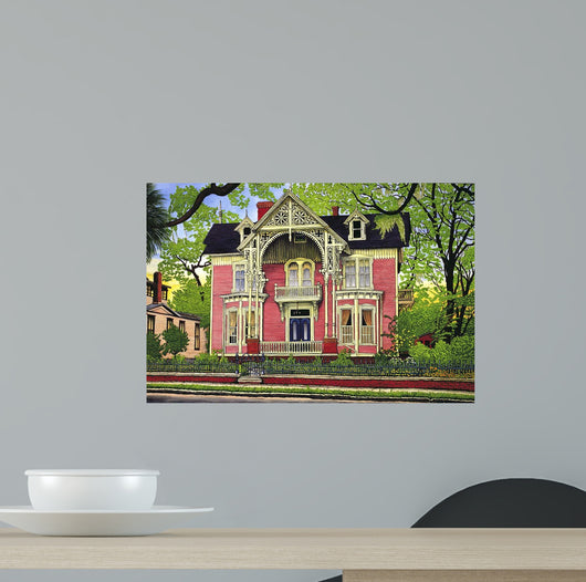 Old Georgia Mansion Wall Mural