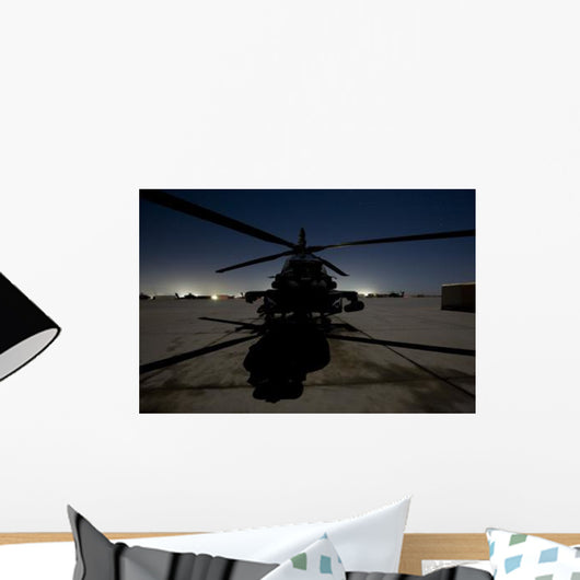 Ah-64d Apache Longbow Block Wall Decal Design 14