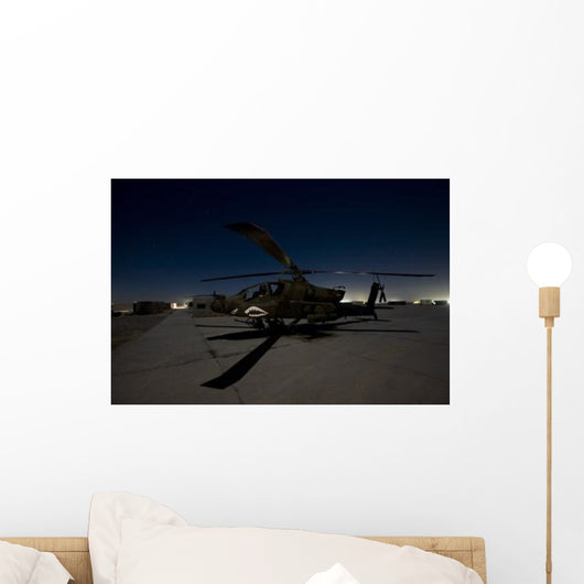 Ah-64d Apache Longbow Block Wall Decal Design 10
