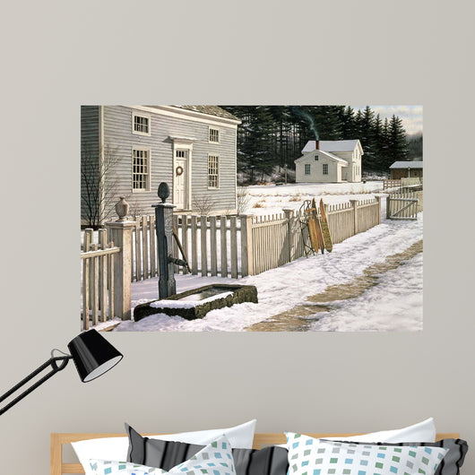 Cocoa Time Wall Mural
