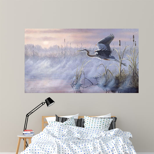 Rising Marsh Wall Mural