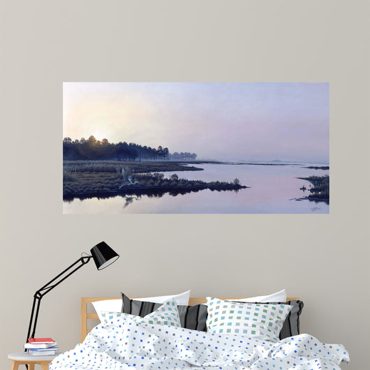 Blackwater Sunrise Wall Mural