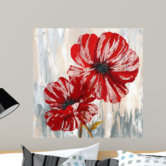 Red Poppies II Wall Mural