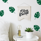 Monstera Leaf Wallpaper Sticker Set