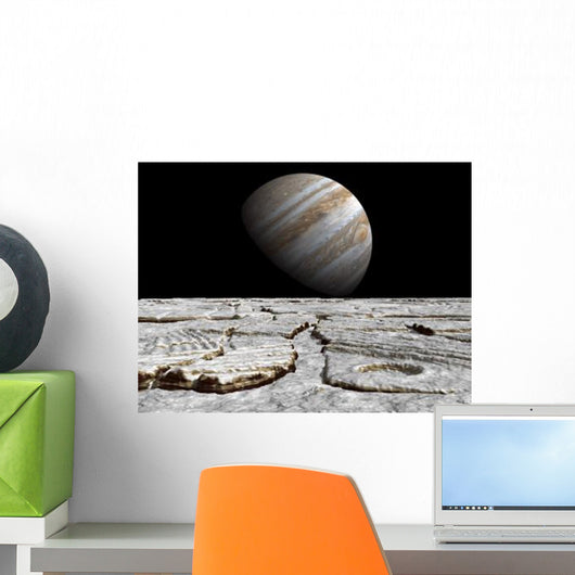 Artist's Concept Jupiter as Wall Decal