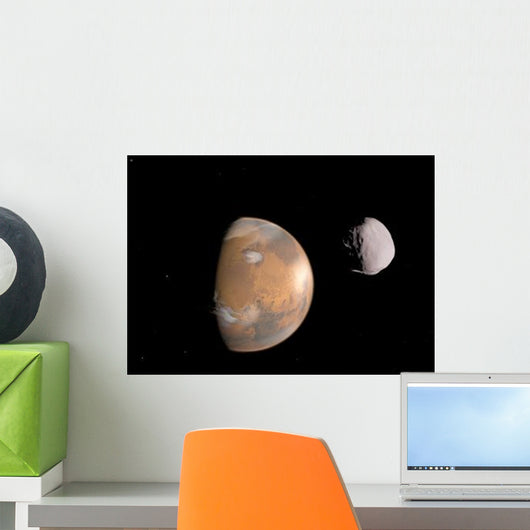 Artist's Concept Mars and Wall Decal Design 2