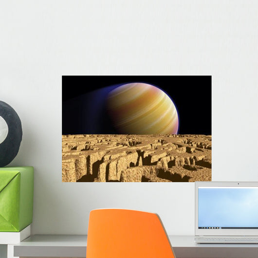 Artist's Concept Extrasolar Planet Wall Decal