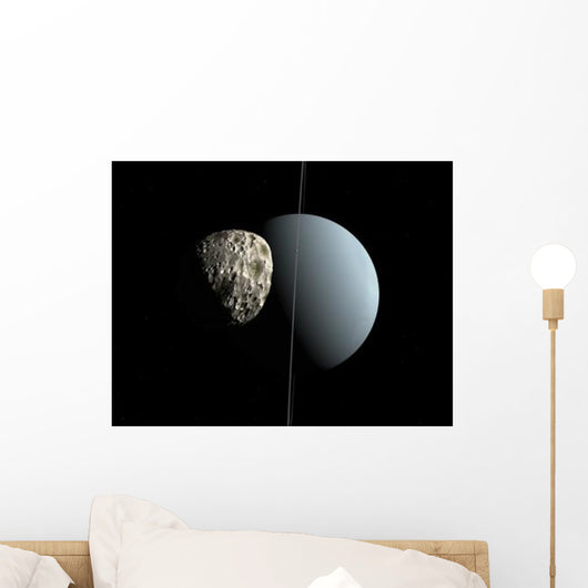 Artist's Concept How Uranus Wall Decal Design 1