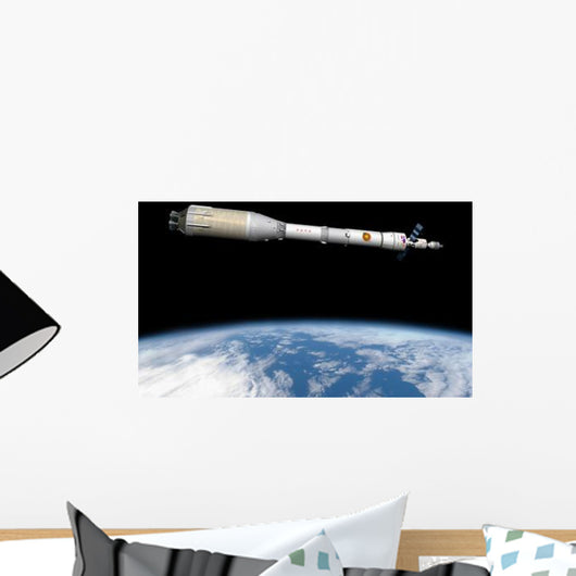 Phobos Mission Rocket System Wall Decal