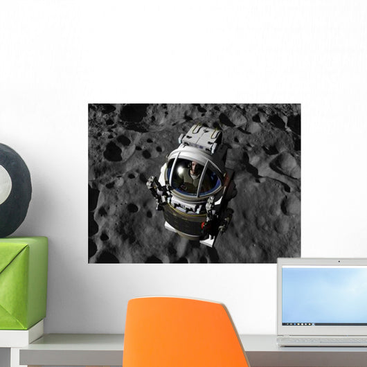 Astronaut Piloting Manned Maneuvering Wall Decal