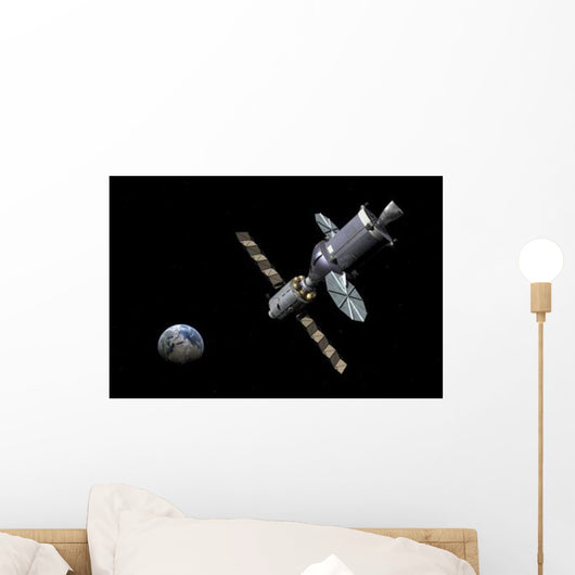 Artist's Concept Deep Space Wall Decal Design 3