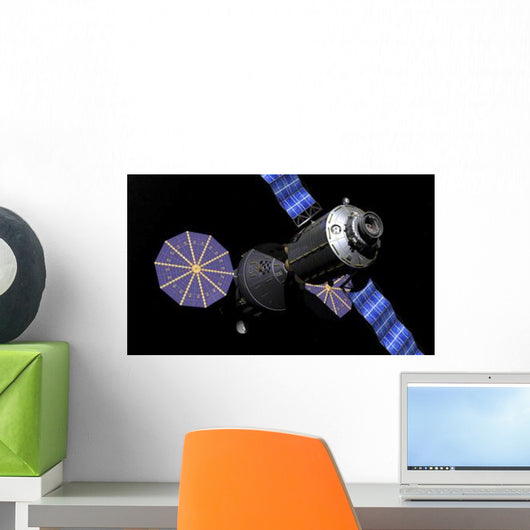 Deep Space Vehicle and Wall Decal