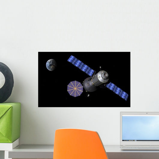 Artist's Concept Deep Space Wall Decal Design 2