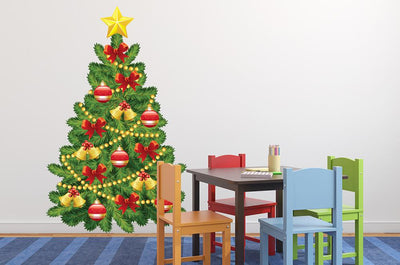 Decorate Your Own Christmas Wall Decal Sticker Set Wall Decal