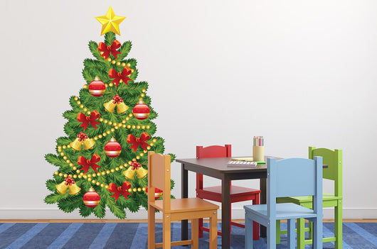 Decorate Your Own Christmas Tree Wall Decal