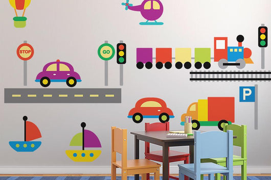 Baby City Wall Decal Sticker Set Wall Decal