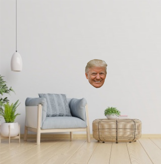 Trump Head Wall Decal
