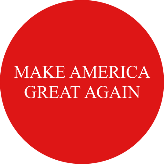 Make America Great Again Round Sticker