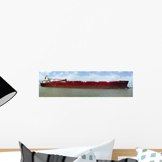 Christoffer Oldendorff Transiting through Wall Decal