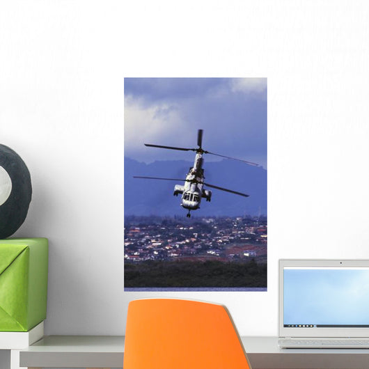 Ch-46 Sea Knight Helicopter Wall Decal