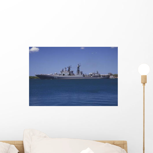 Russian Destroyer Admiral Panteleyev Wall Decal Design 1