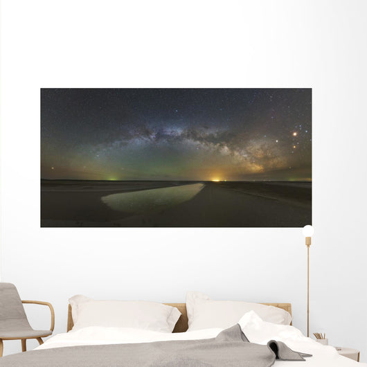 Arch Milky Way above Wall Decal
