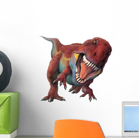 Carcharondontosaurus Looks at Viewer Wall Decal