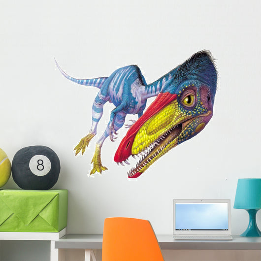 Coelophysis Stares at Viewer Wall Decal