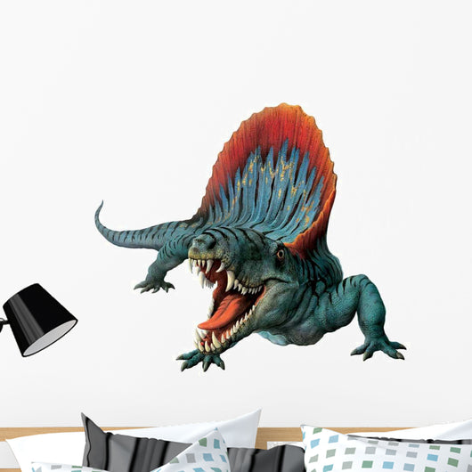 Dimetrodon Hissing Wall Decal