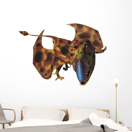 Dimorphodon Prepares to Take Off Wall Decal