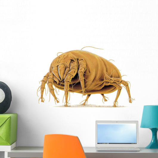 Dust mite doing dust mite things. Wall Decal