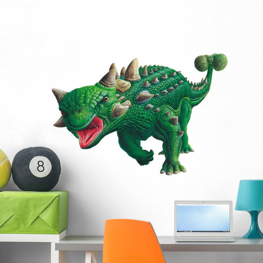 Euoplocephalus Running Wall Decal