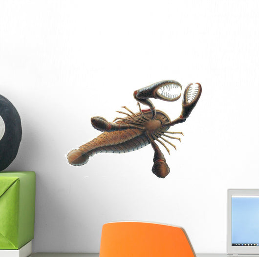 Eurypterid Swimming Wall Decal