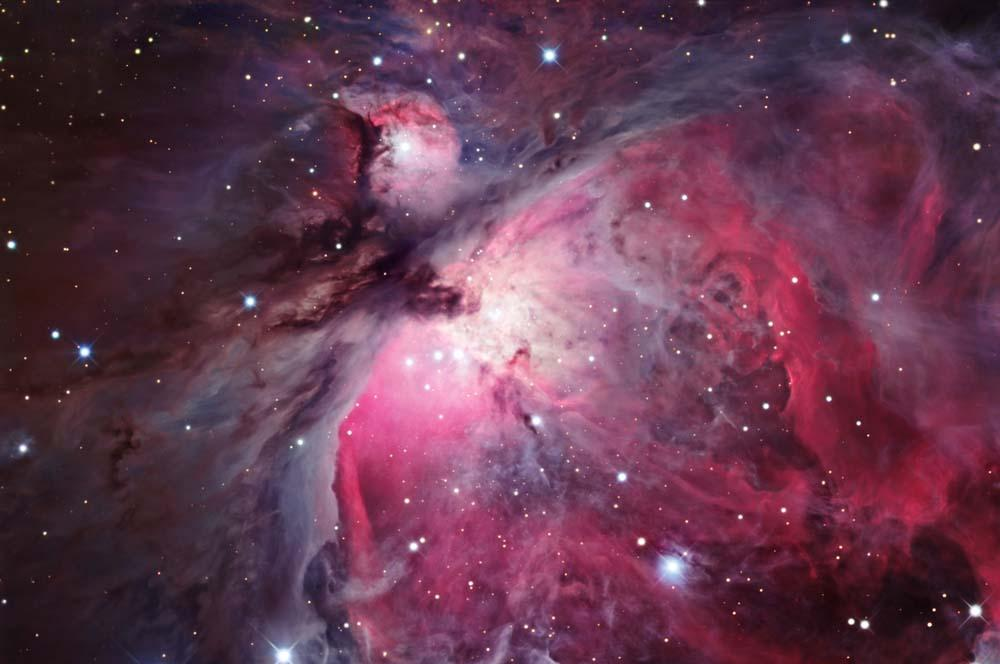 Up Orion Nebula Wall Decal