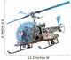 Bubble Top Helicopter Wall Decal