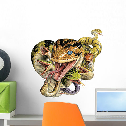 Hissing Hydra Wall Decal
