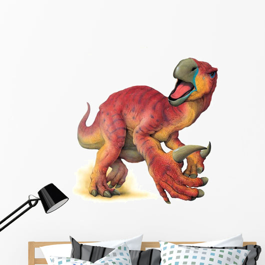 Iguanadon is excited. Wall Decal