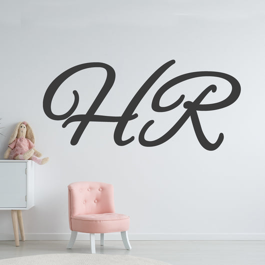 Custom Vinyl Lettering Wall Decal