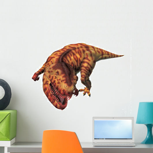 Megalosaurus growling. Wall Decal