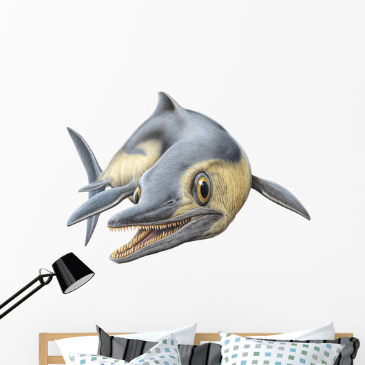 Opthalmosaurus Swimming Wall Decal