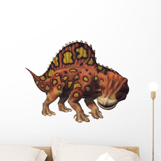 Ouranosaurus Standing Wall Decal
