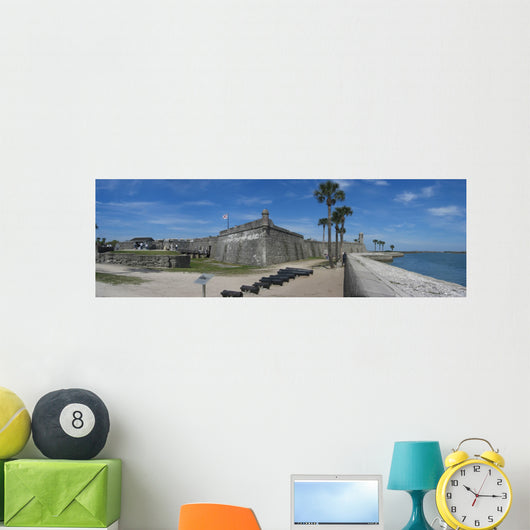 Castillo San Marcos Fort Wall Mural Wallmonkeys Com