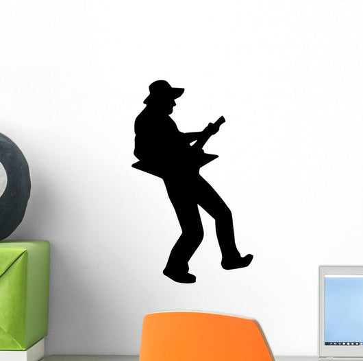 Amazon Com Guitars V2 Wall Decal Sticker Vinyl Art Bedroom Living Room Decor Decoration Teen Quote Inspirational Boy Girl Baby Music Instruments Rock Rockstar Metal Rock N Roll Talent Acoustic Electric Band Sing