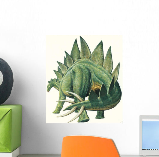 Stegosaurus Walking Wall Decal