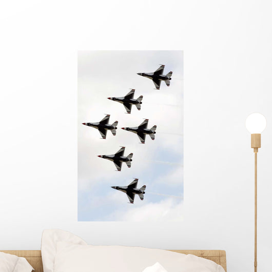 Thunderbirds Form 6 Ship Delta Wall Decal Wallmonkeys Com