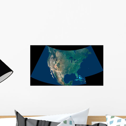North America Wall Decal